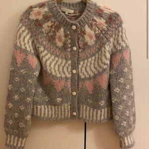 Loveshackfancy Jamie Vintage Cardigan XS